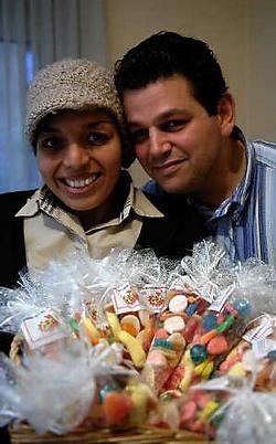 Amel Hlal en haar man Nathan Turonski kwamen in Londen op het idee. Herman Ricour