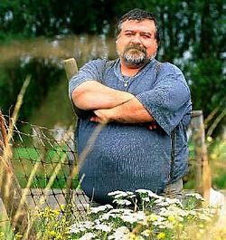 Marnique Deswarte in 2000, 90 kilo zwaarder dan nu.mc<br>