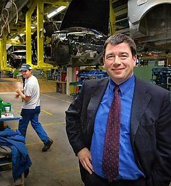 Peter Leyman, gelukkiger bij Volvo dan in de politiek. edm<br>