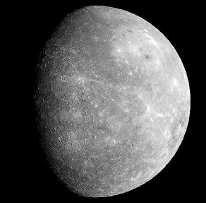 Mercurius, gezien door Messenger. EPA<br>