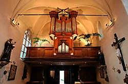 Het orgel van de kerk van Landskouter werd gerestaureerd voor 225.000 euro. Hendrik De Rycke<br>