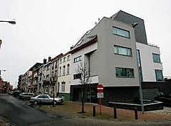 De meergezinswoning van architect Stefaan Tiberghien bezorgde hem een geldprijs en een kunstwerk. Peter Maenhoudt