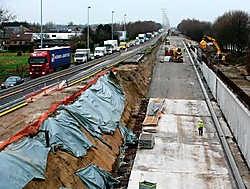 De werkzaamheden aan de tunnel in Aalter zitten op schema.Gregoire De Poorter<br>