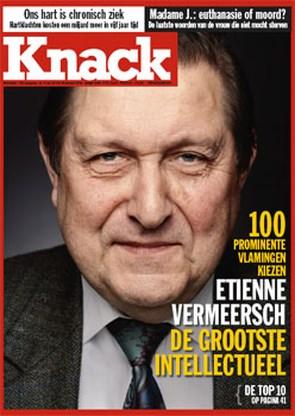 Vermeersch is grootste intellectueel van Vlaanderen