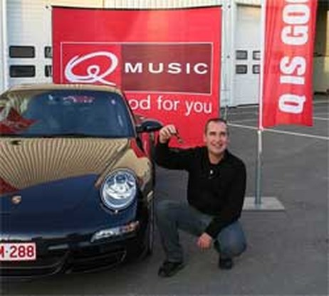 Politieman wint Q-Porsche