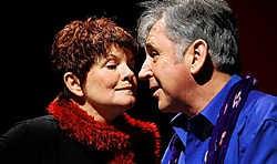 Janine Bischops en Johny Voners gingen anderhalf jaar geleden uit elkaar. Gary Breyssem<br>
