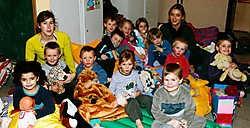 De kleuters van De Notelaar mochten in hun klasje blijven slapen: 'Keitof!'vacas
