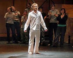 Het College brengt de musical 'Jesus Christ Superstar' met een modern tintje.Paul De Malsche<br>