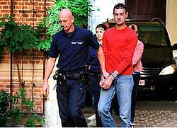 Frankie Versmissen, die aangehouden voor de rechter verscheen, beweerde dat hij en zijn kompaan wilden opscheppen. Louis Verbraeken