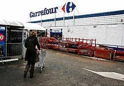 Carrefour maakt nog een inventaris op van wat er precies is verdwenen. Louis Verbraeken