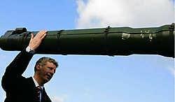 'Iedereen weet dat er in Kleine Brogel een 'capaciteit nucleair' aanwezig is', zei minister van Defensie Pieter De Crem (CD&amp;V). photo news<br>
