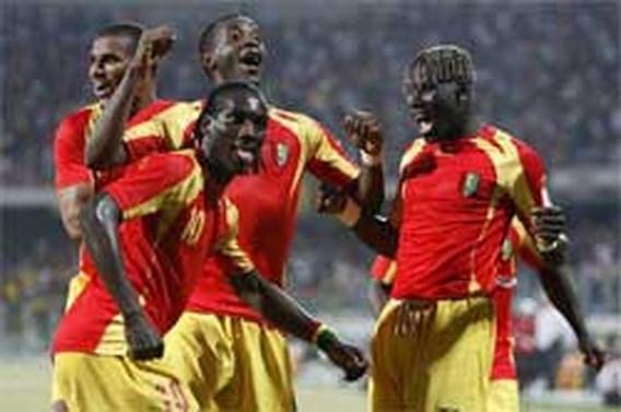 Eerste punten voor Guinee