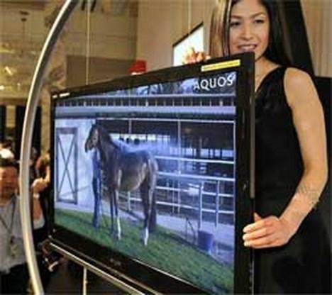 Sharp brengt dunste LCD-tv op de markt