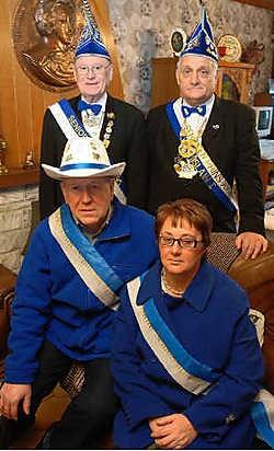 Charly en Greta kijken ernaar uit om in 2008 carnaval te vieren als prinsenpaar van de senioren. Yvan De Saedeleer