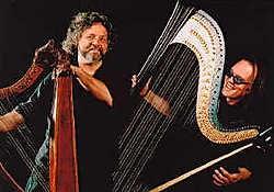 In De Adelberg gaan harpvirtuozen aan het werk. Ingezonden beeld