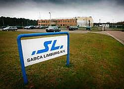De arbeiders van Sabca in Lummen zijn gisteren naar huis gestuurd.yj <br>