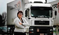 Met de hulp van Jobkanaal nam Mieke Vertriest al twaalf mensen in dienst. 'Daar zitten mensen tussen van allerlei pluimage.'<br> Grégoire De Poorter