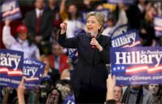 Clinton telt weer mee