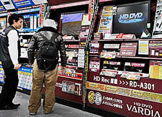 Toshiba trekt de stekker uit hd-dvd