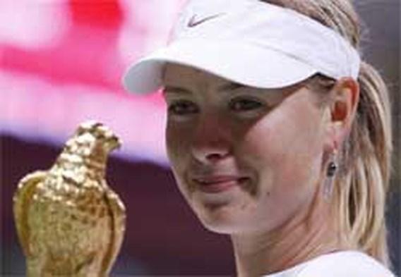 Maria Sharapova wint toernooi van Doha