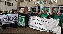 Met een petitie willen de bewoners en het ACV de nakende sluiting van het postkantoor in Kieldrecht tegenhouden. Paul De Malsche