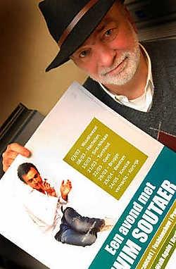 Vader Claude Soutaer organiseert een nieuwe concertreeks voor Wim Soutaer.Yvan De Asedeleer<br>