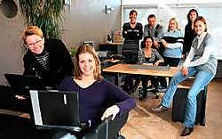 Imalink telt, voor een ICT-bedrijf, veel vrouwelijke werknemers. 'Wij benaderen de zaken anders, wij hebben meer geduld.'gia