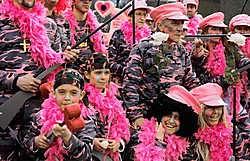 Carnaval in Merelbeke is altijd een waar kijkspektakel.Gianni Barbieux
