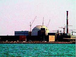 De Iraanse nucleaire site in de haven van Bushehr.epa<br>