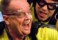 Jack Nicholson valt diep. sb<br>