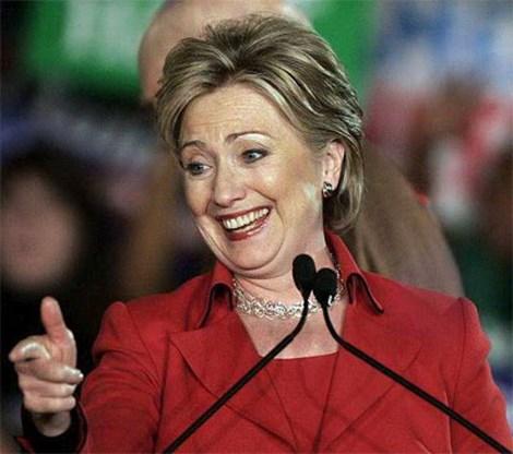 Hillary haalt 10 miljoen dollar op in een dag