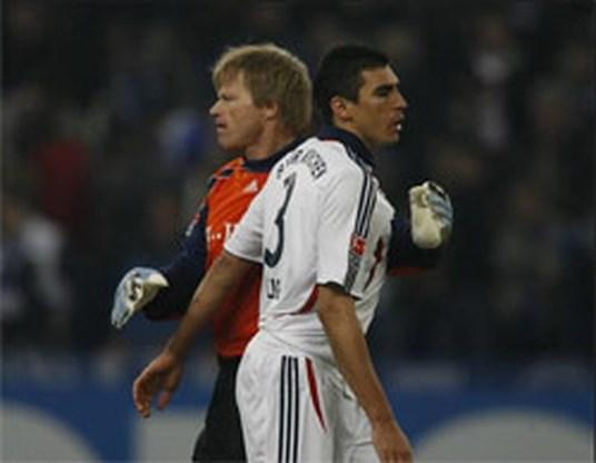 Geen Kahn, Lucio, Jansen en Ze Roberto bij Bayern
