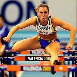 Eline Berings slaagde in haar opzet: een Belgisch record en een halvefinaleplaats.photo news<br>
