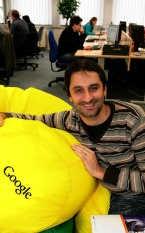 Marnik D'Hoore: 'We maken ons sterk dat we onze klanten meestal in de top-10 van de zoekresultaten kunnen laten verschijnen.'fvv