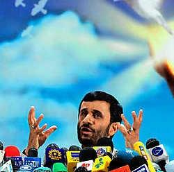 De Iraanse president Mahmoud Ahmadinejad.epa<br>