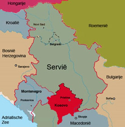 Buurlanden Servië gaan Kosovo erkennen