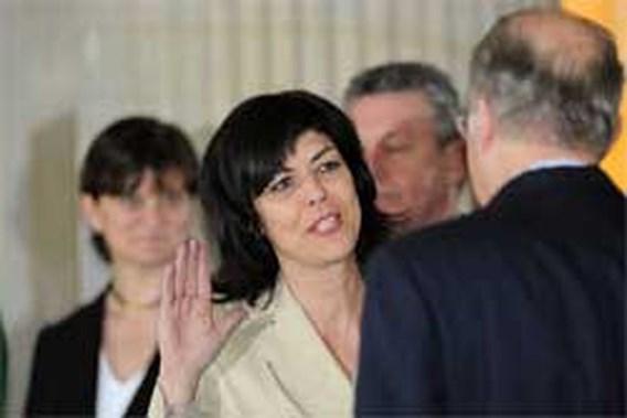 Joëlle Milquet door partij in regering geduwd