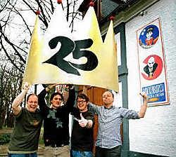 Jongerencentrum Bouckenborgh bestaat 25 jaar. En dat willen ze daar geweten hebben.Koen Fasseur<br>