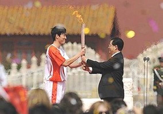 Olympische vlam blijft mogelijk in Groot-Brittannië