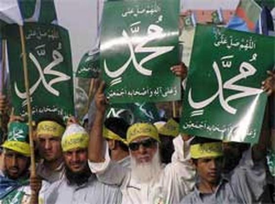 Tienduizenden Pakistanen protesteren tegen Wilders