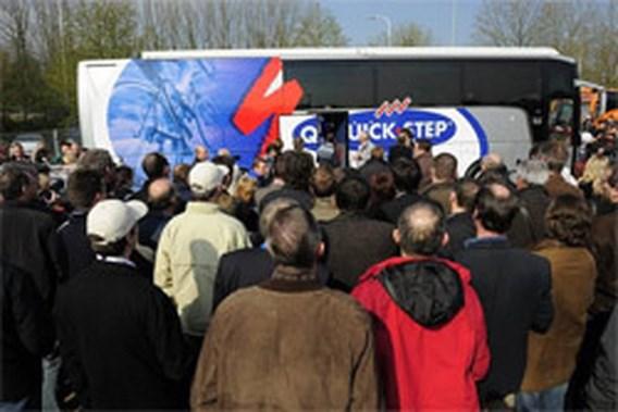 Quick Step waarschuwt fans voor valse buschauffeur
