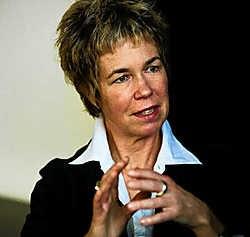 De Amerikaanse filmmaakster Lisa Jackson: geschokt door de gesprekken met de verkrachters.Bart Dewaele<br>