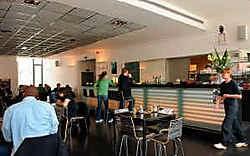 Café Congo is het trefpunt van de KVS.Herman Ricour<br>