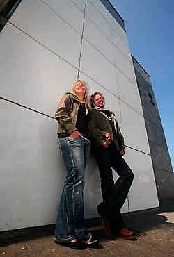 Stéphanie en Jan begonnen als duo aan 'Can you duet' en staan nu als duo in de finale.<br>Mine Dalemans<br>