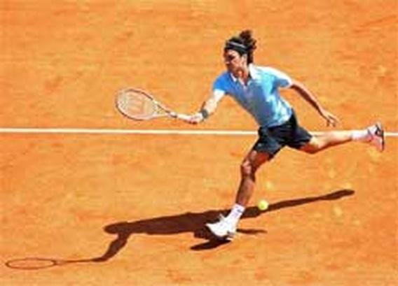 Federer vindt zijn draai in Monte Carlo