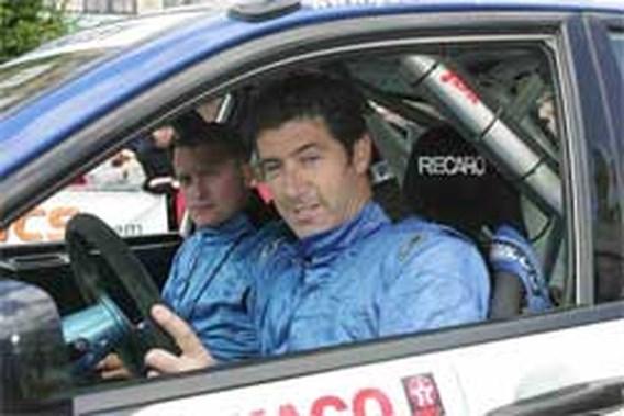 Rally van Wallonië met Patrick Snijers als startnummer 1