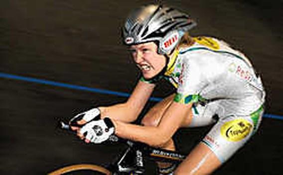 Belgische meisjes eindigen vijfde op de ploegenachtervolging
