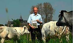 Edward Saeys gaf zijn boek de titel 'De koeien van Belle'. Carol Verstraete