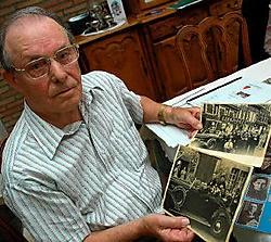 Pierre Stippelmans overleefde de gruwel van de oorlog en de concentratie- kampen. Gert Devocht