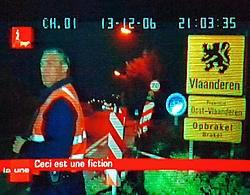 De Franstaligen houden er kennelijk ook ernstig rekening mee dat het door de RTBF opgeroepen spookbeeld van de wegblokkades aan de taalgrens ooit werkelijkheid wordt, aldus Bart Maddens. belga